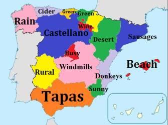 Spain regions
